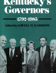 The story of the 51 men and one women to hold the position of Governor of the Commonwealth of Kentucky.