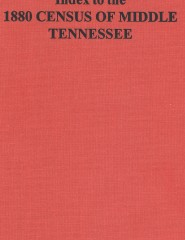 Index to the 1880 Middle Tennessee Census